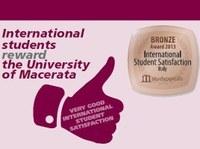 International Student Satisfaction Award